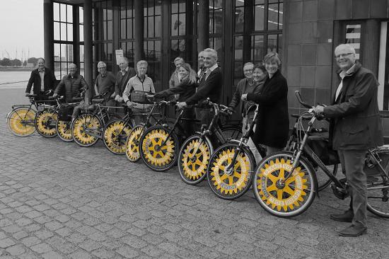 RC Rotterdam Alexander met Rotarywielen